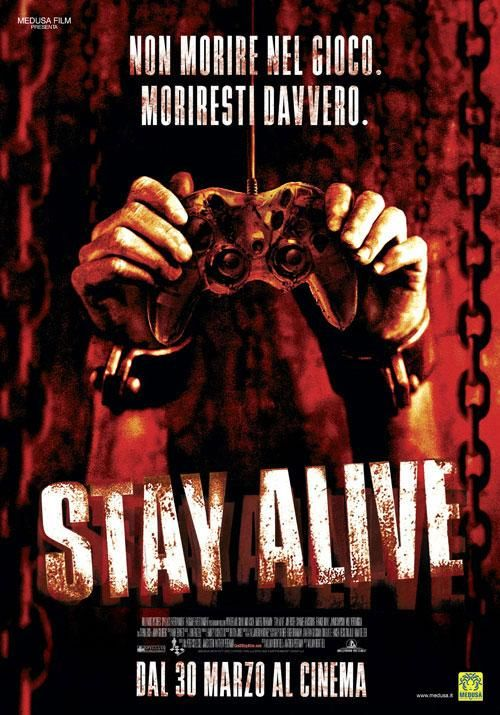 Stay Alive Staying Alive Horror Movie Fan Horror Movie Art