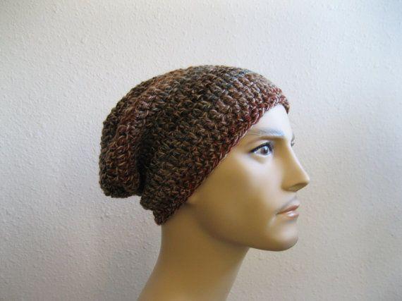 Crochet Beanie  Slouchy Beanie  Beanie Hat  by yarnmeditations
