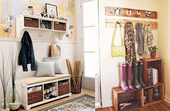 Ideas para decorar el recibidor de casa tips to make my for Ideas para decorar recibidor