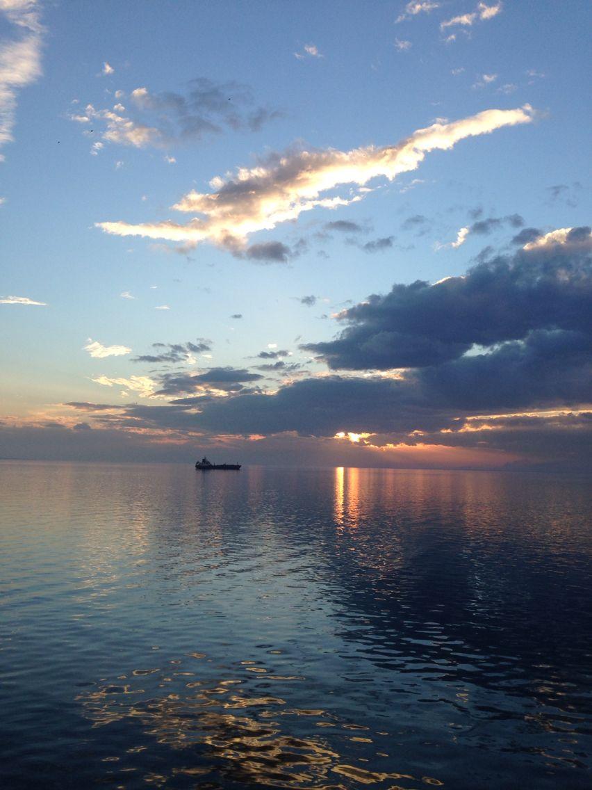 #sea #sunset #greece