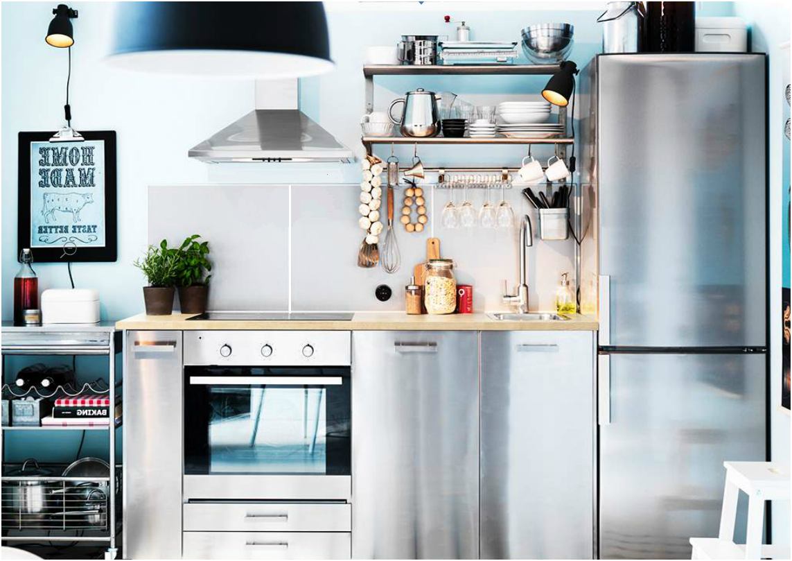 why ikea kitchens in europe and australia look so built in ...
