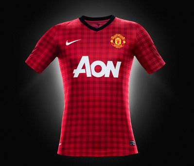 Novo uniforme do Manchester United cc454c07f448f