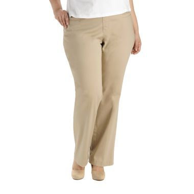 e5ef31160 Lee® Style Up Barely Bootcut Twill Pants - Plus found at  JCPenney ...