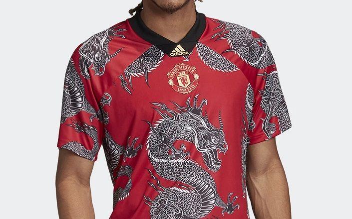 Manchester United 2020 Chinese New Year Adidas Jersey Football Fashion Org Manchester United Manchester New Years Shirts