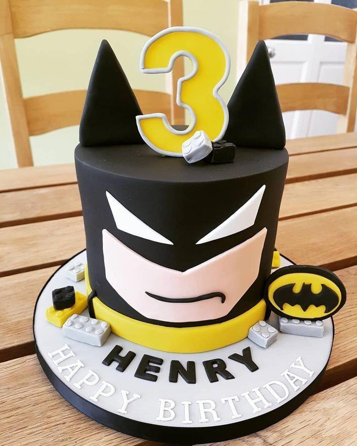 Photo of Henry's Lego batman cake! #lego #legobatman #legobatmancake #batmancake #3rdbirt…