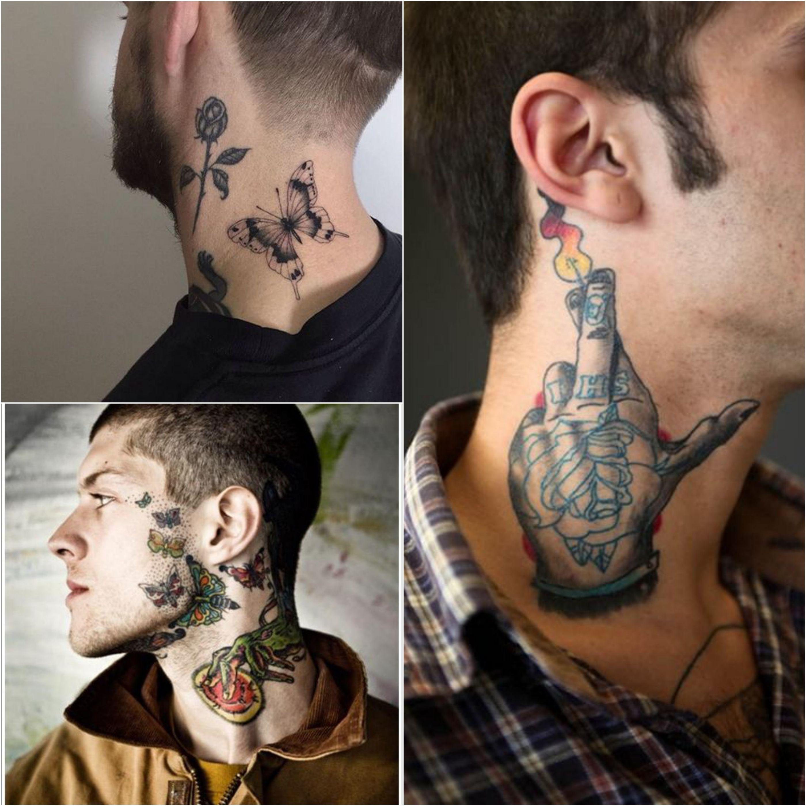 100 Best Neck Tattoo Designs Creative Neck Tattoo Ideas Gallery