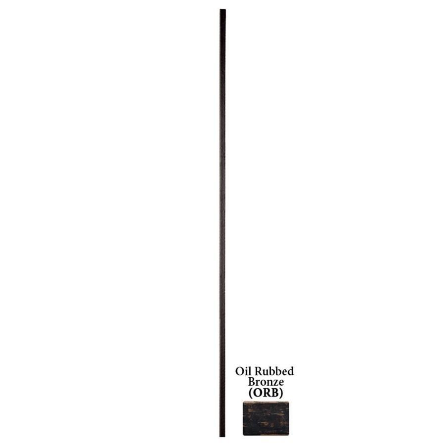 House Of Forgings Designer 44 In Oil Rubbed Bronze Wrought Iron Classic Stair Baluster Lowes Com Wrought Iron Stair Balusters Wrought