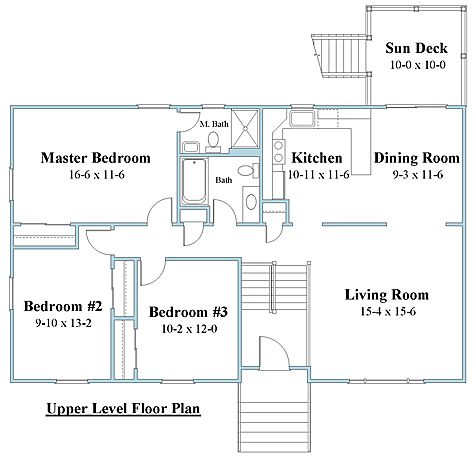 Raised Ranch House Plan Home Designing Service Ltd Windsor Ct Serving New England Ranch House Plans House Floor Plans House Plans