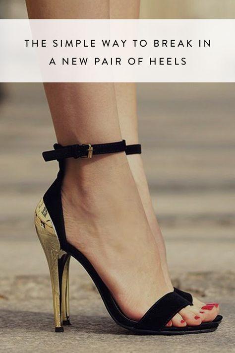 The Simple Way To Break In A New Pair Of Heels Heels Women Shoes New Look Heels
