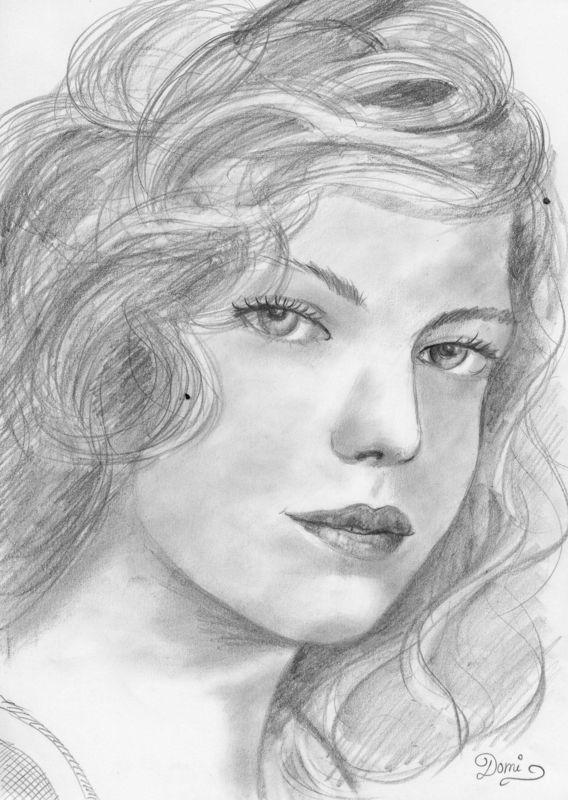 Préférence comment dessiner des portraits au crayon | dessin | Pinterest  ZF44