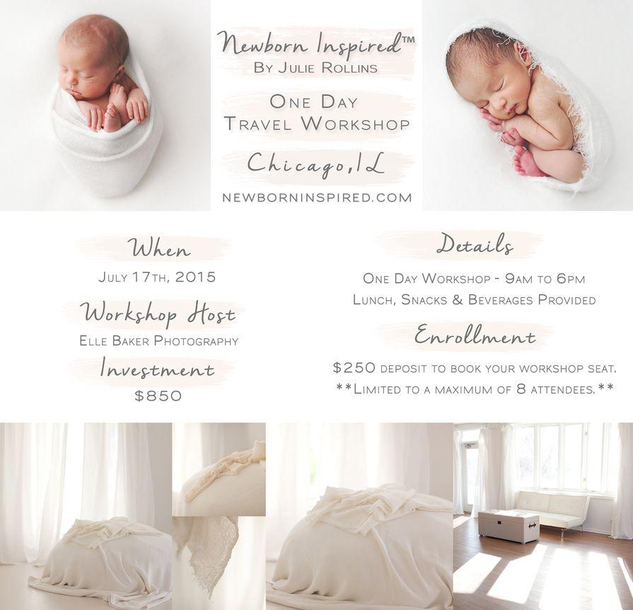 Chicago newborn photography workshop newborn inspired by julie rollins www newborninspired com