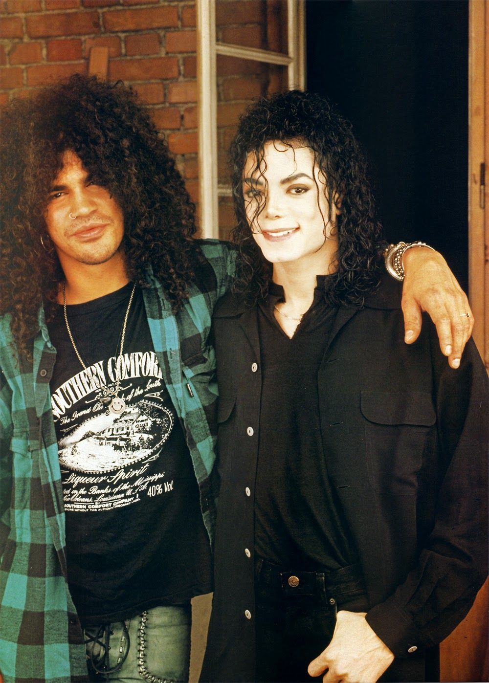 57925c43c6 vintage everyday  20 Awesome Photos of Michael Jackson Hanging Out with His  Famous Friends