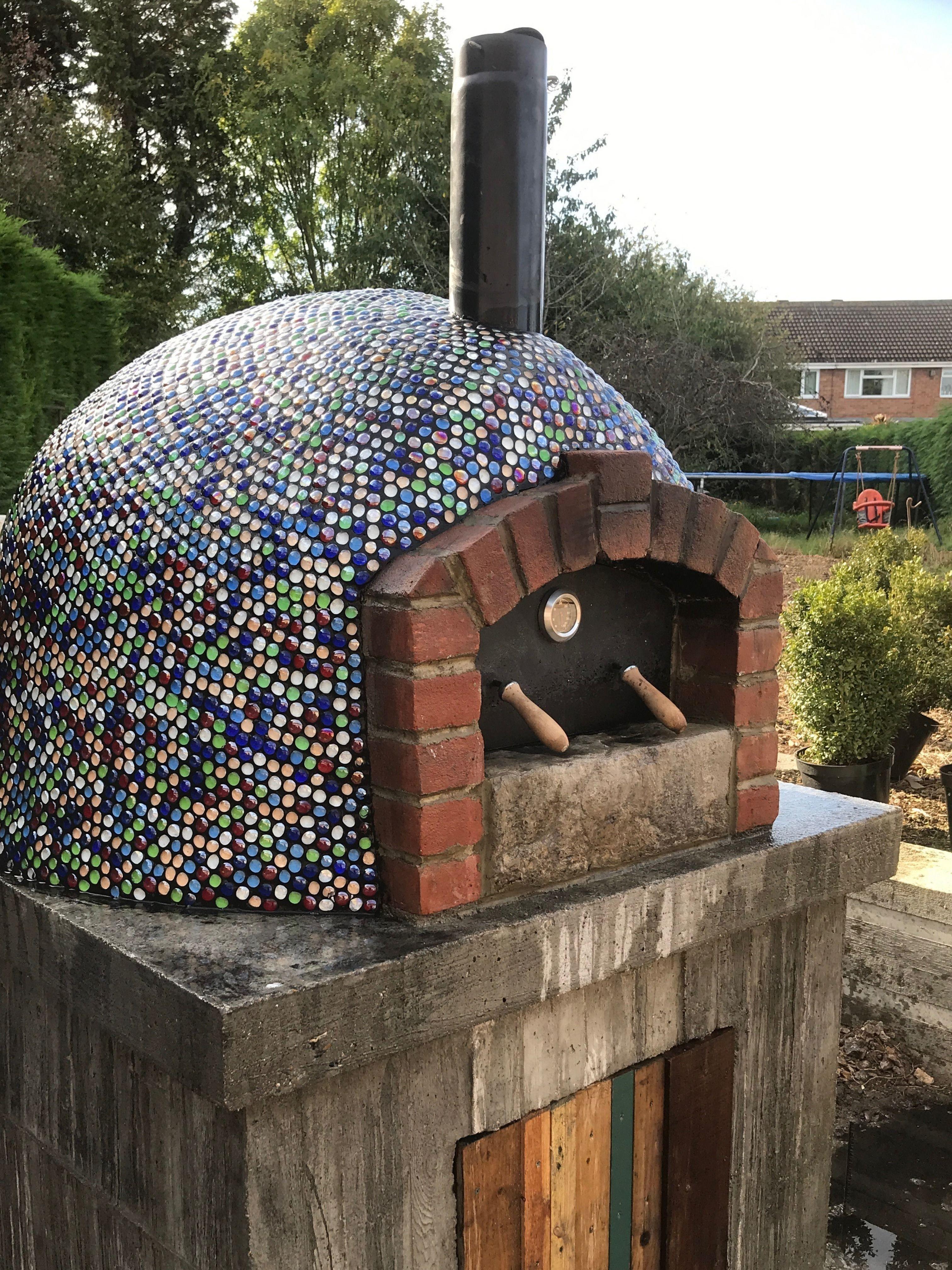 Decorative dome for pizza oven in 2020 pizza oven