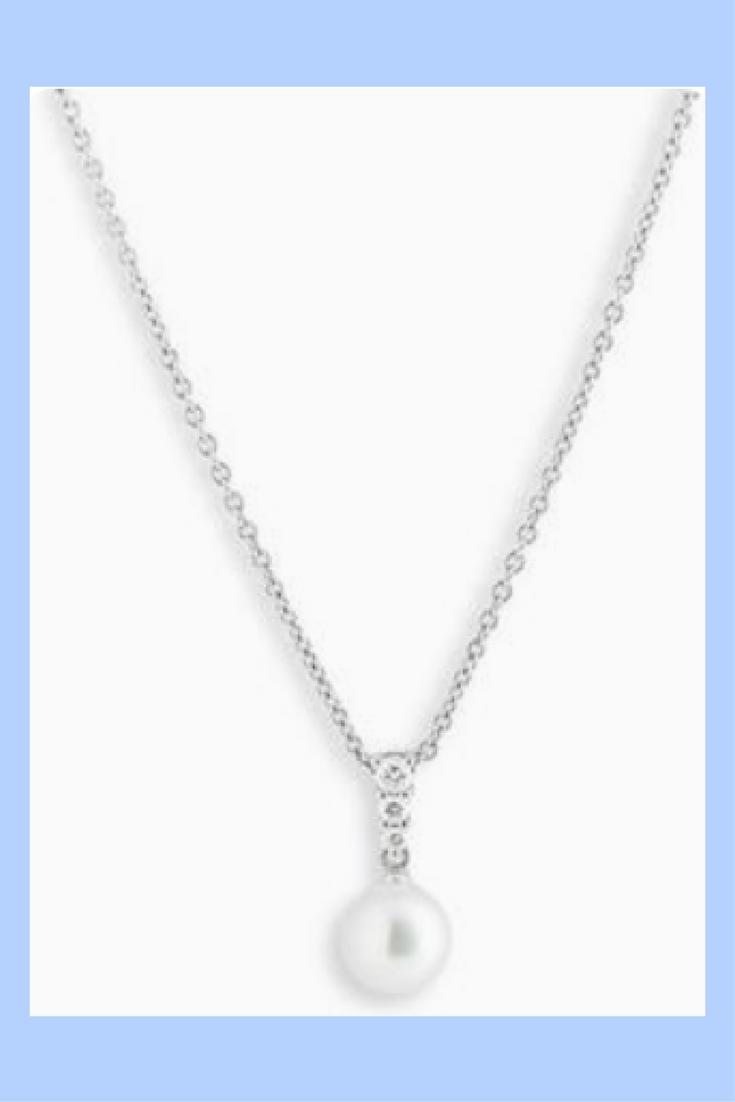 e6e6f3137 Women's Mikimoto 'Morning Dew' Akoya Cultured Pearl & Diamond Pendant  Necklace (sponsored)
