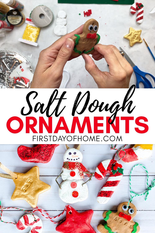 Easy Salt Dough Ornaments -   18 xmas decorations to make kids ideas