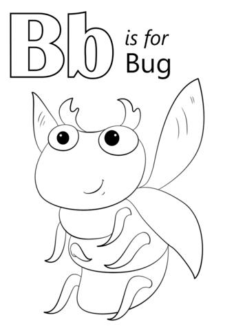 Buchstaben B Abc Malvorlagen Buchstabe B Kindergarten Malvorlagen