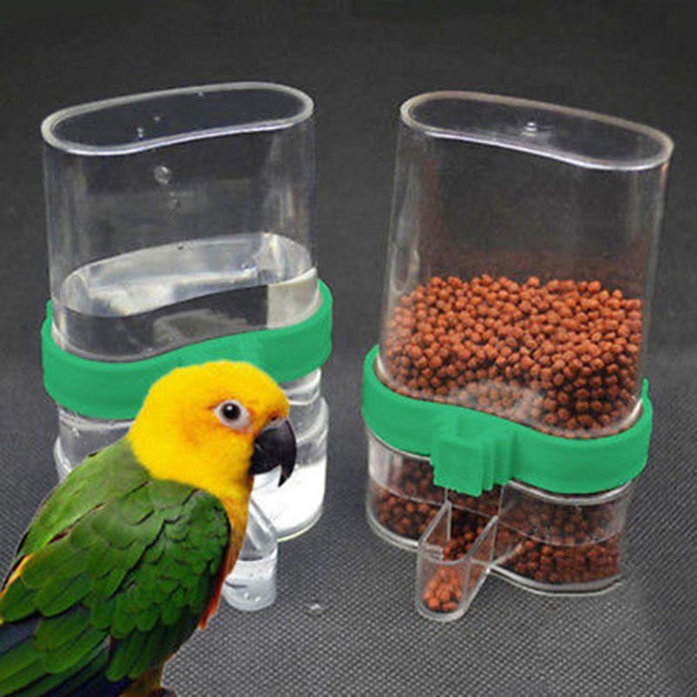 Bird cage plastic Extended feeder dish  Medium set of 6 dishes