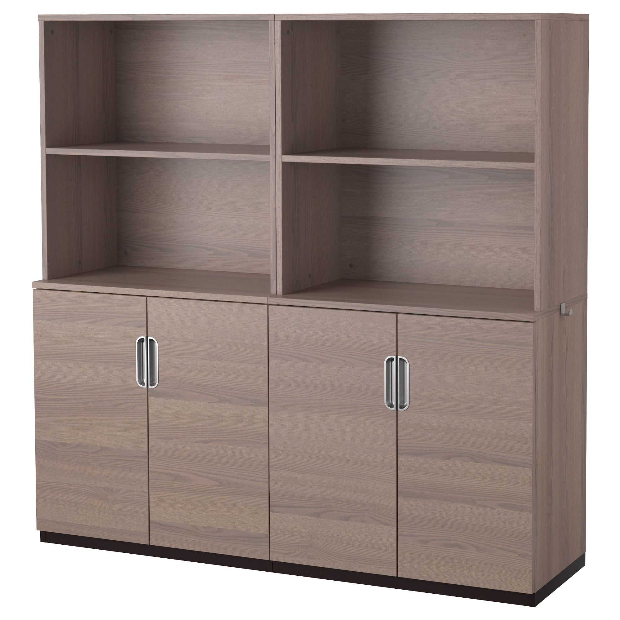 Nice IKEA   GALANT, Storage Combination With Doors, Gray, , Limited Warranty.  Read About The Terms In The Limited Warranty Brochure.Integrated Damper  Makes Doors