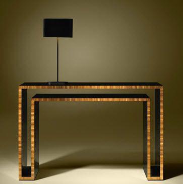 Contemporary wooden sideboard table DUPLO U Luisa Peixoto Design ...