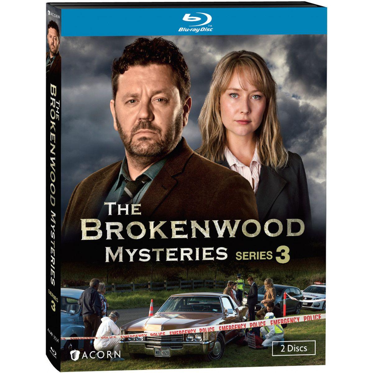 The Brokenwood Mysteries Series 3 Blu Ray