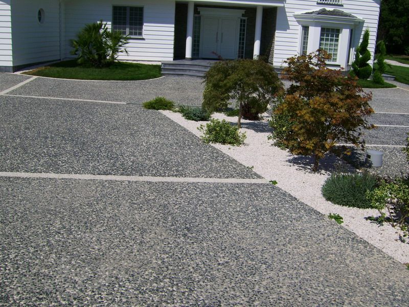 Pavimento exterior de hormig n efecto piedra chromostone - Pavimento de exterior ...