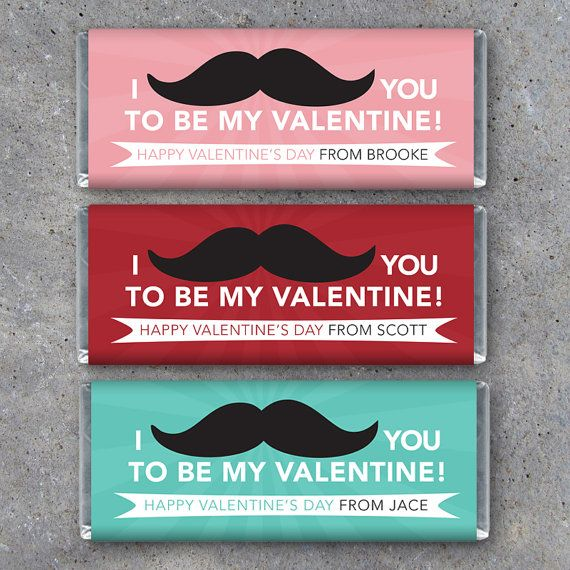 personalized valentines day candy bar by studio120underground 900