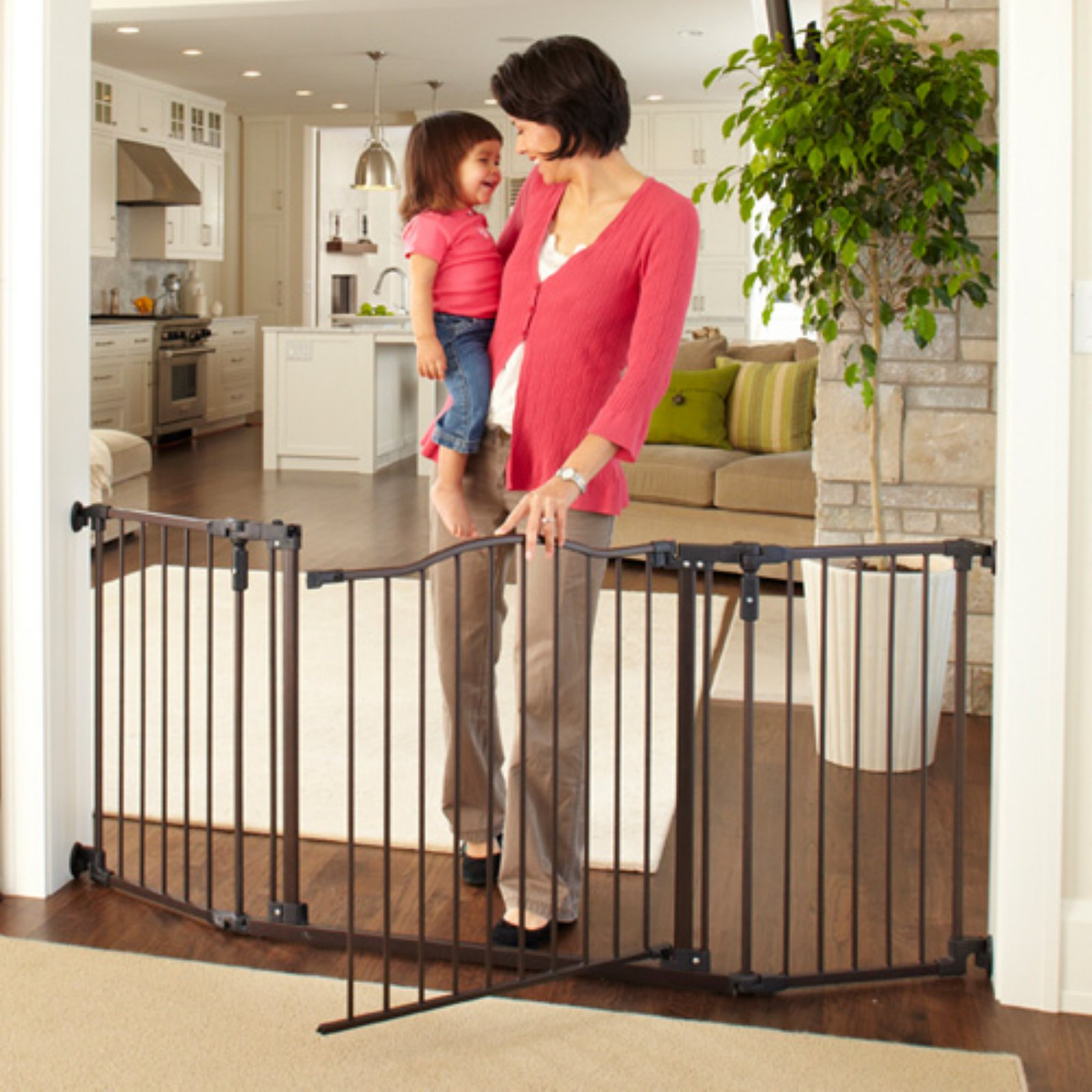 North States Deluxe Decor Metal Gate Best baby gates