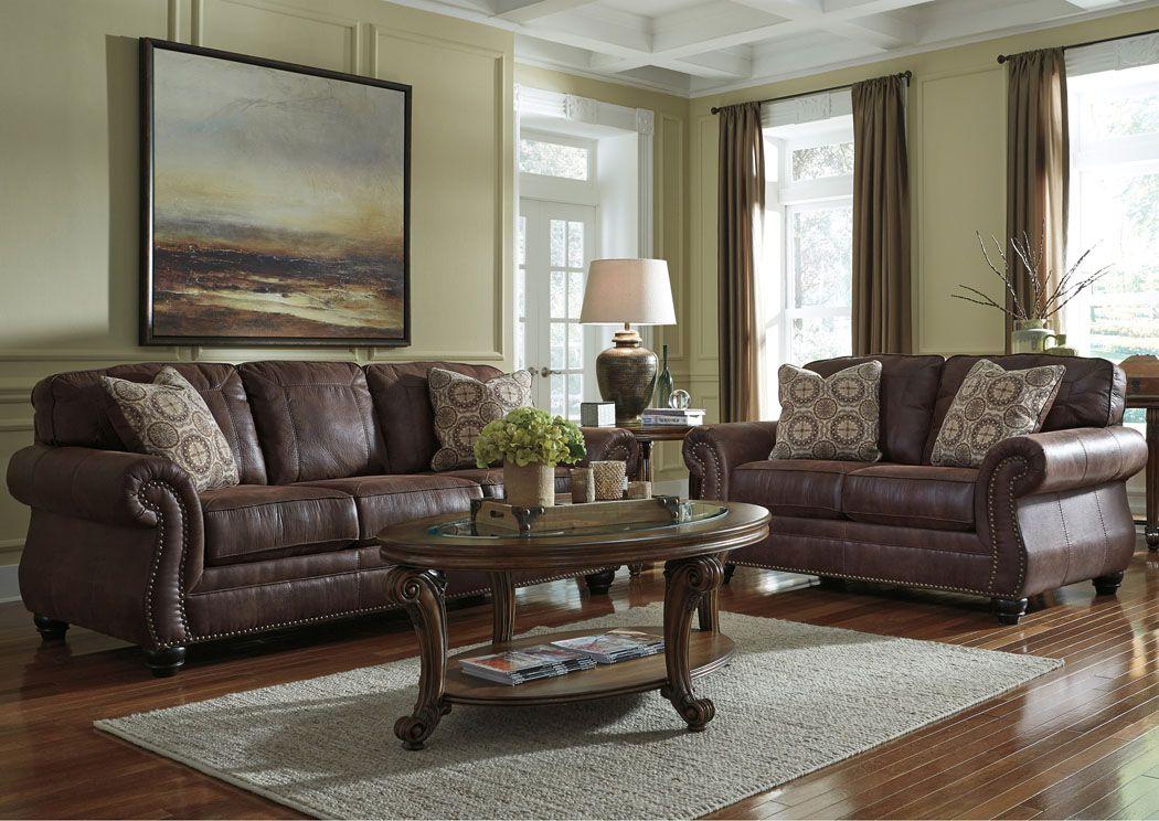 Best Breville Espresso Sofa Loveseat Recliner Living Room 400 x 300