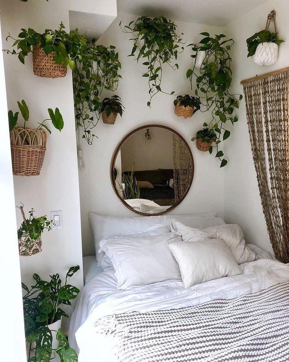 75 Romantic Bedroom Decor Ideas With Plant Theme Room Inspiration Bedroom Redecorate Bedroom Urban Outfiters Bedroom Bedroom decor ideas plants