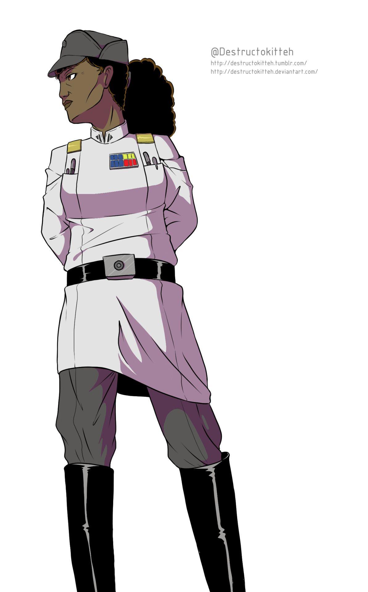 Grand Admiral Rae Sloane Sloane Is The Admiral Who Crashes The