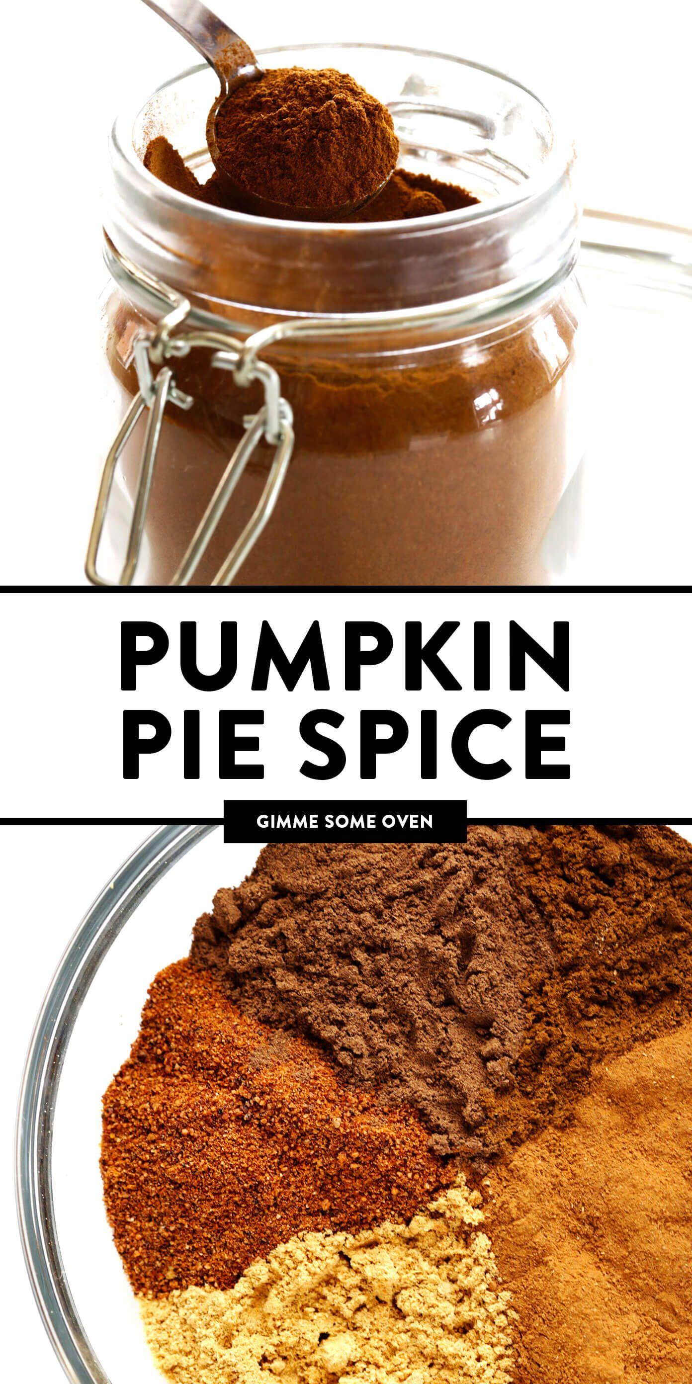 Pumpkin Pie Spice Recipe Homemade pumpkin pie spice