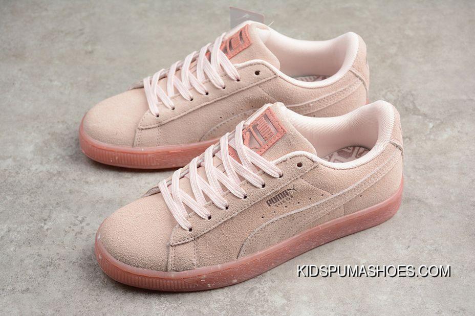 P16 Puma Suede Classic Glitz Wn S Raw Rubber Casual Sneaker 367048-02 Women  Shoes For Sale e1fd6404d