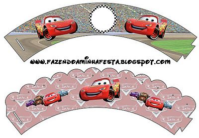 Making My Party!: Cars - Complete Kit with frames for invitations, labels for goodies, souvenirs and pictures!