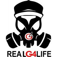 Logo Of Real G4 Life Forearm Tattoo Men Art Graffiti