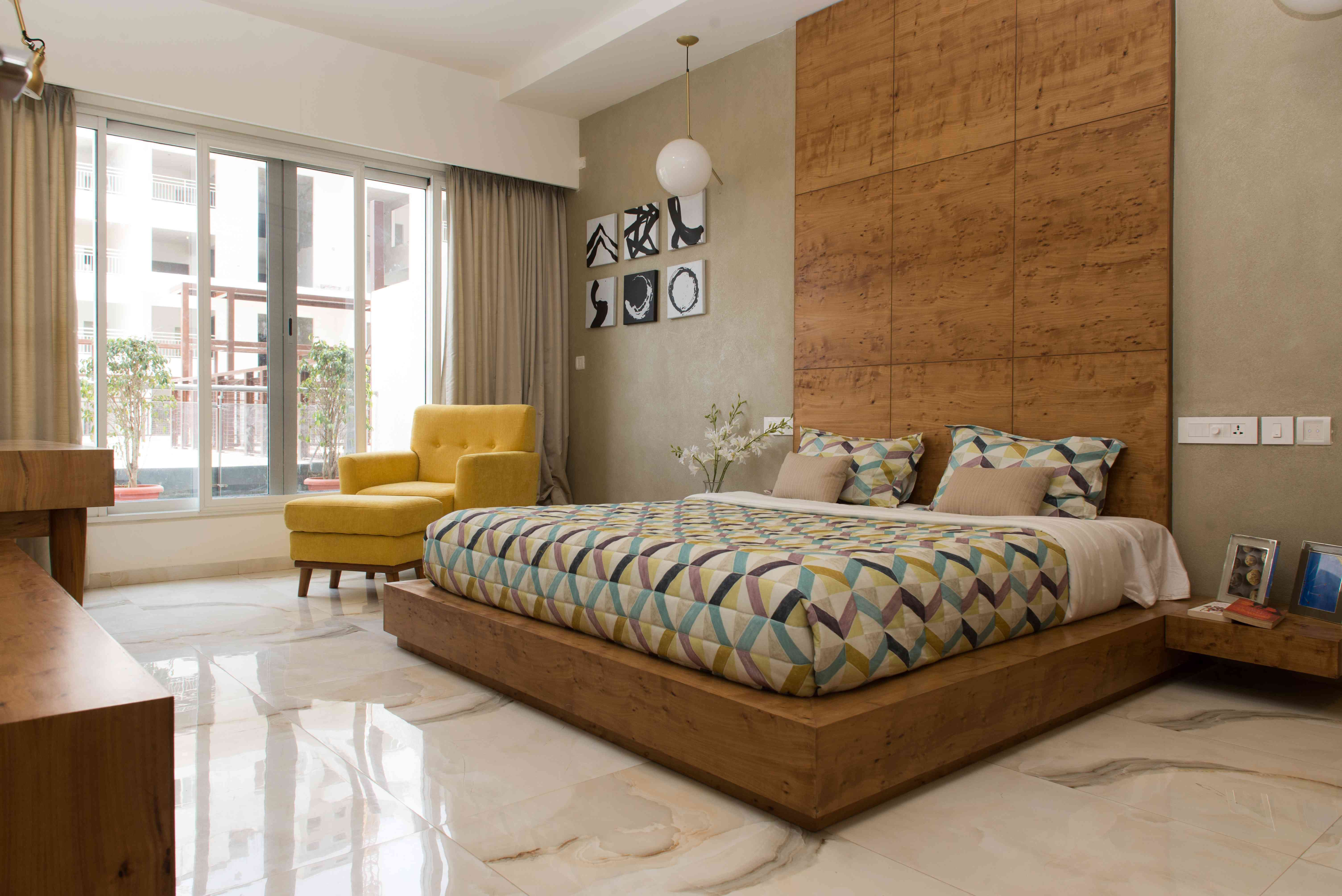 Design By Atom Interiors Modern Style Bedroom Master Bedroom Interior House Interior