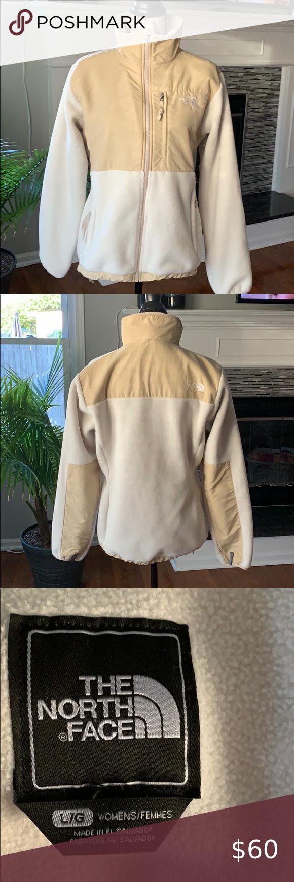 White And Tan North Face Jacket Polartec White And Tan Northface Jacket Polartec Excellent Condition S White North Face Jacket North Face Jacket Clothes Design [ 1740 x 580 Pixel ]