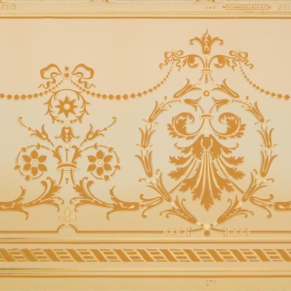 Pin On Original Antique Wallpaper Remnants