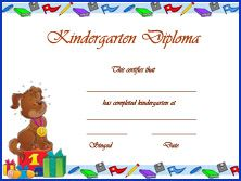 Kindergarten graduation diploma co op ideas pinterest graduation certificate template free free graduation certificate templates customize online free printable graduation certificate big dot of happiness yadclub Gallery