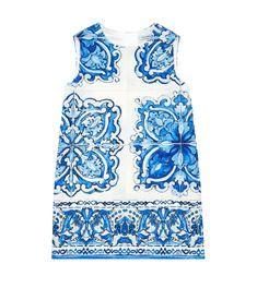 View the Sicilian Ceramic Jacquard Dress