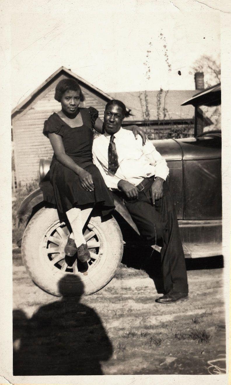 white girl black man Vintage