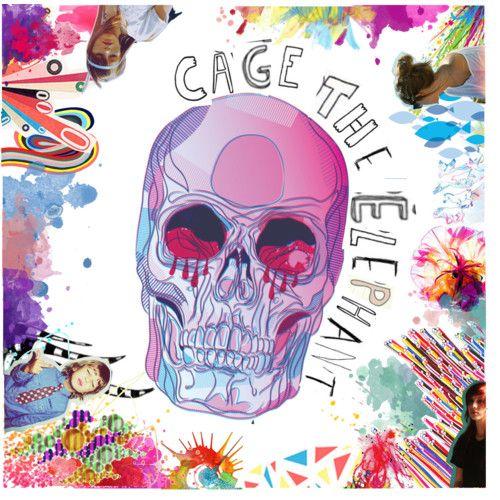Cage The Elephant Album Logo Rock Band iphone case