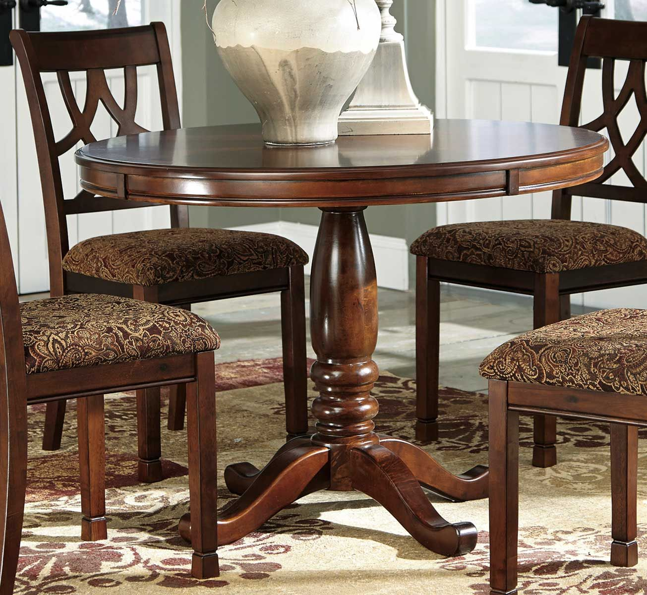 Ashley Leahlyn Round Dining Room Table in 2020 | Dining ...