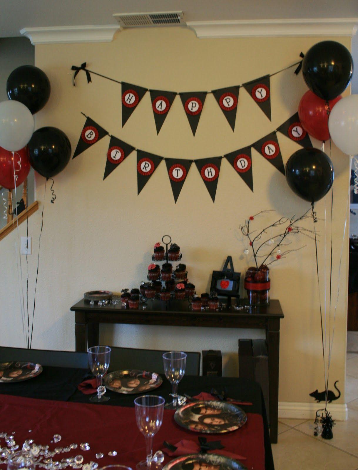 Twilight Party Ideas