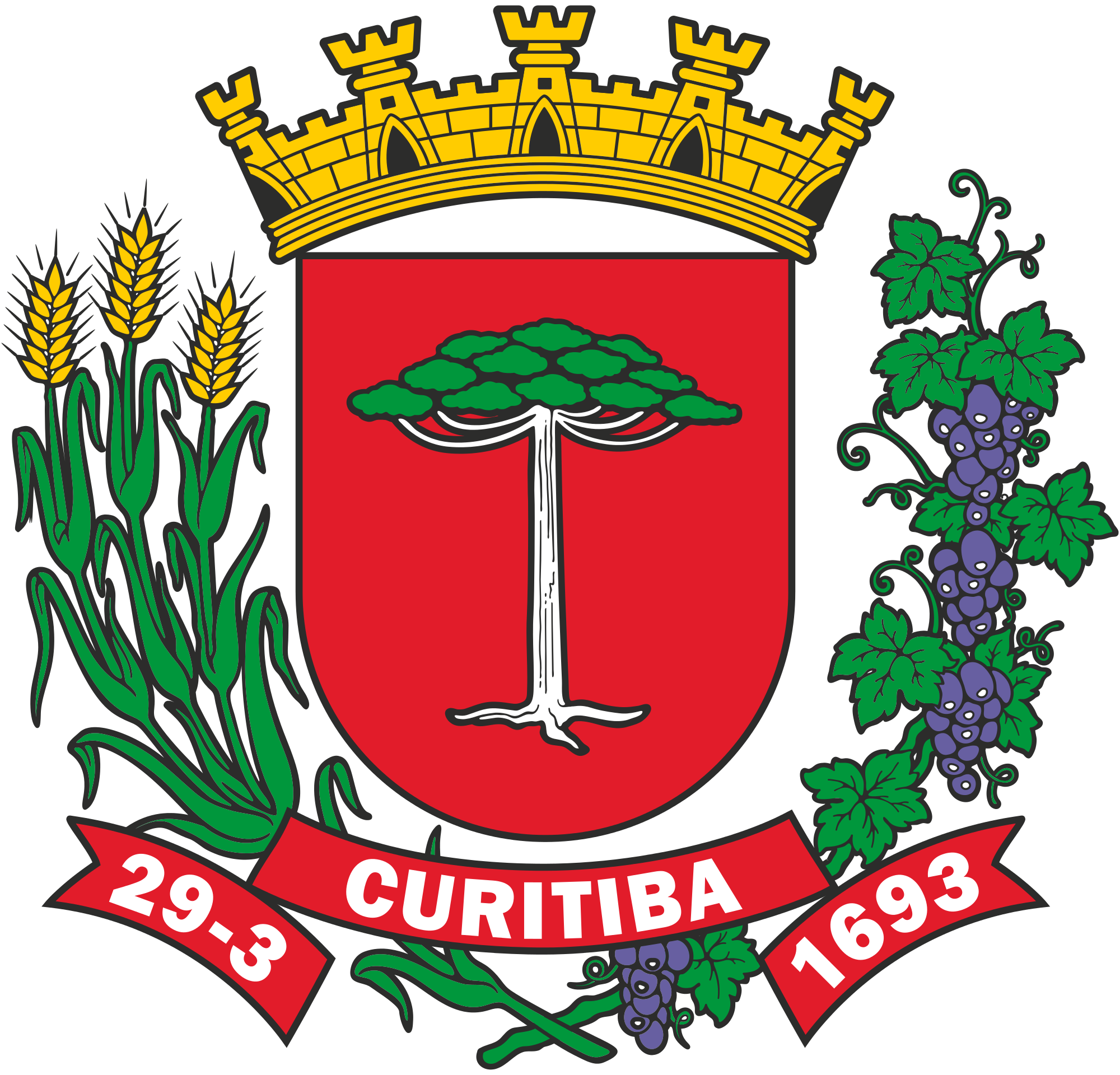 Image result for curitiba seal Coat of arms, City logo
