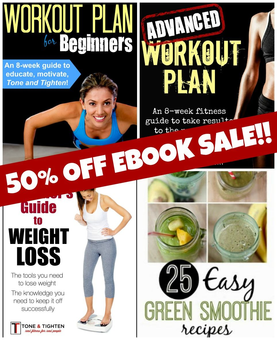 50 Off Ebook Sale Tone And Tighten Fitness Pinterest Workout