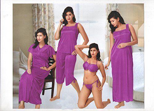 b38ba8bae9 Indiatrendzs Hot Sexy Nighty Nighties 6pc Set -Freesize Indiatrendzs  http   www.