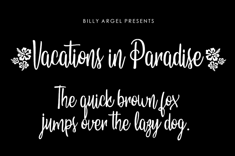 Vacations in Paradise Font | dafont.com | Fonts, Fancy ...
