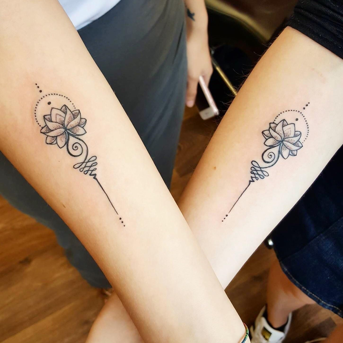 Mine and my sister\'s matching tattoos by Syluss @ Songbird tattoo ...