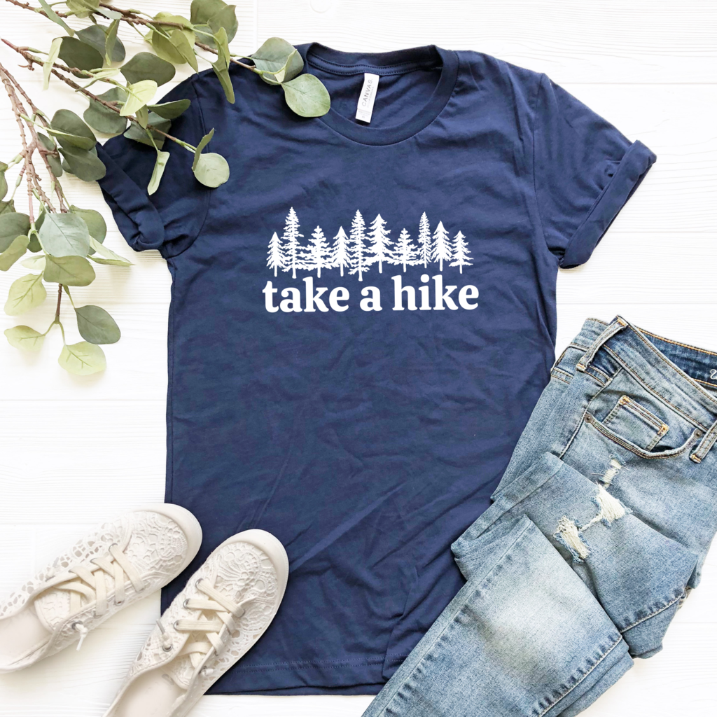 Take a Hike Graphic Tee #granolagirlaesthetic