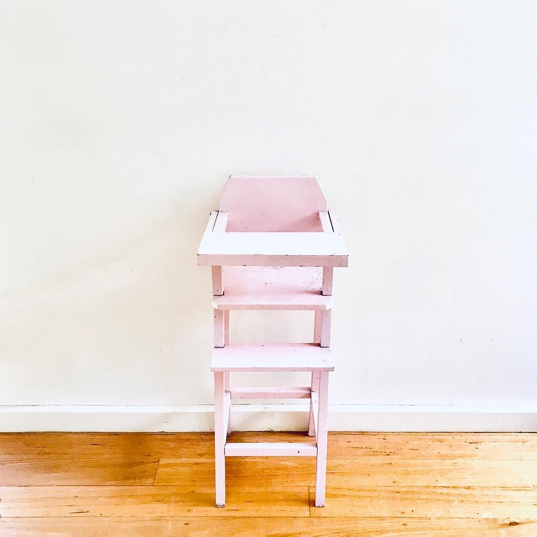 New The 10 Best Home Decor With Pictures Wooden Dolly Highchair Structurally Sound Some Wear And Tear Just Needs A L Home Goods High Chair Home Decor